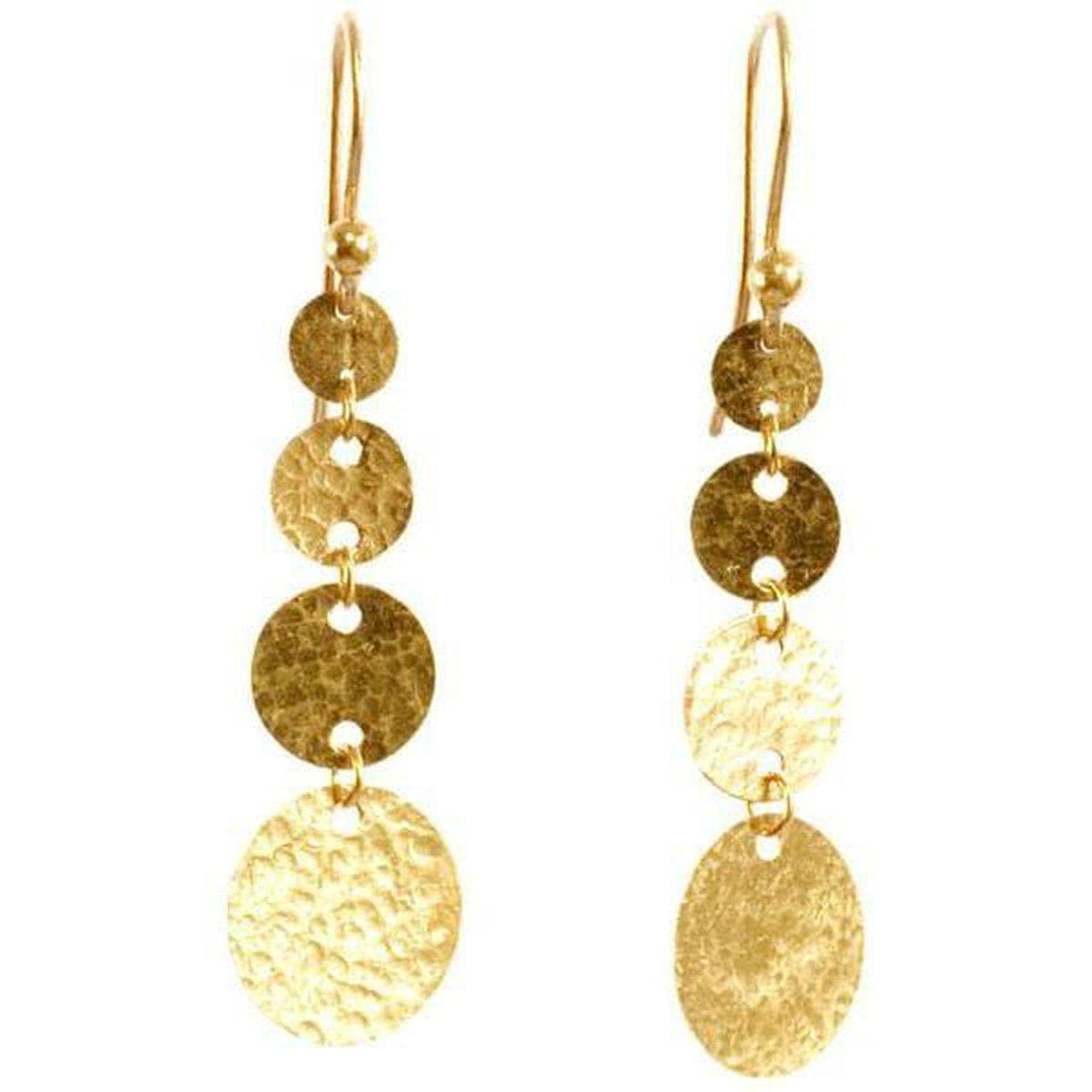 Lush 24K Gold Earrings - FE-4GF-GR-GH-GURHAN-Renee Taylor Gallery