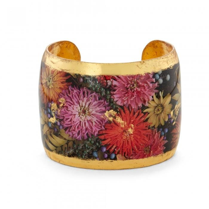 Zinnias Cuff - FL101-Evocateur-Renee Taylor Gallery