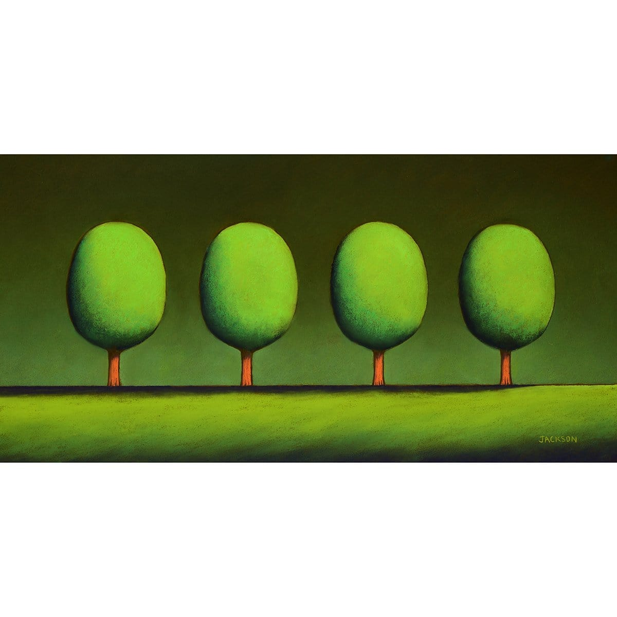 """Four Cool Green Trees"" - Christopher Jackson"