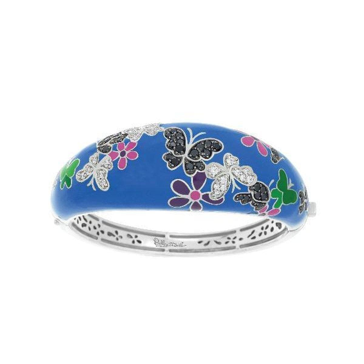 Flutter Blue & Multi Bangle-Belle Etoile-Renee Taylor Gallery