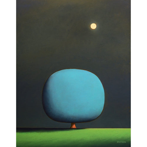 """Full Moon Meditation""-Christopher Jackson-Renee Taylor Gallery"