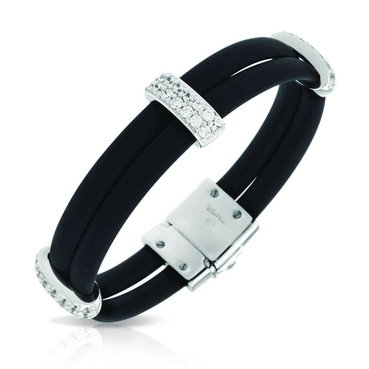 Enrapture Vertical Black Bracelet-Belle Etoile-Renee Taylor Gallery