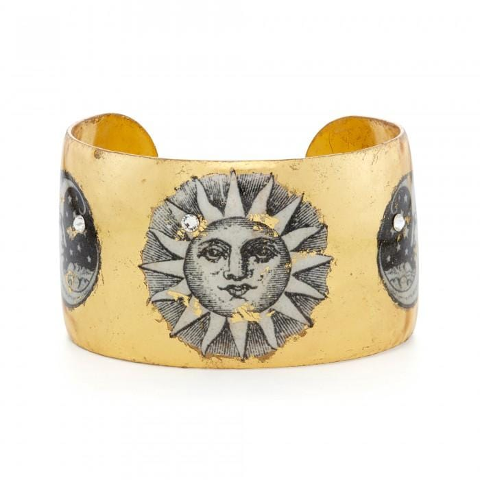Sun and Moon Cuff - GL106-5-Evocateur-Renee Taylor Gallery