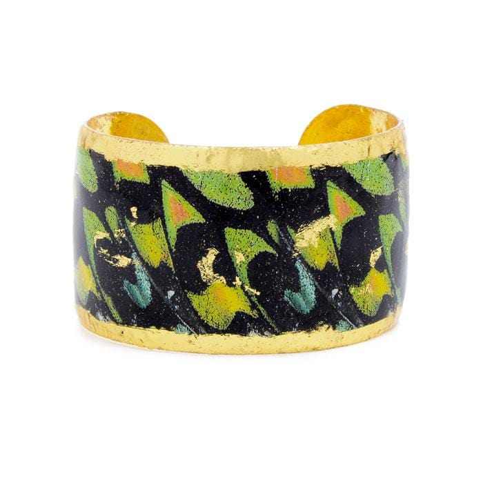 Green Orange Butterfly Cuff - GN145-Evocateur-Renee Taylor Gallery