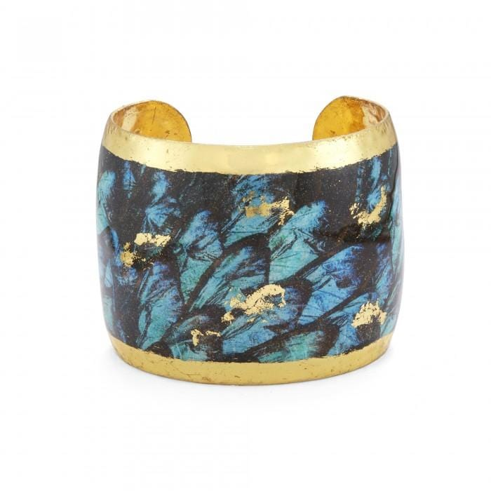 Turquoise Buttefly Cuff - GN146-Evocateur-Renee Taylor Gallery