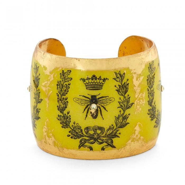 Queen Bee Cuff - GN166-Evocateur-Renee Taylor Gallery