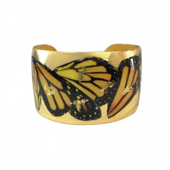 Monarch Wings Cuff - GN167-5-Evocateur-Renee Taylor Gallery