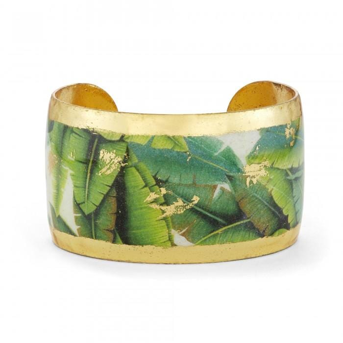 Banana Leaf Cuff - GN187-Evocateur-Renee Taylor Gallery