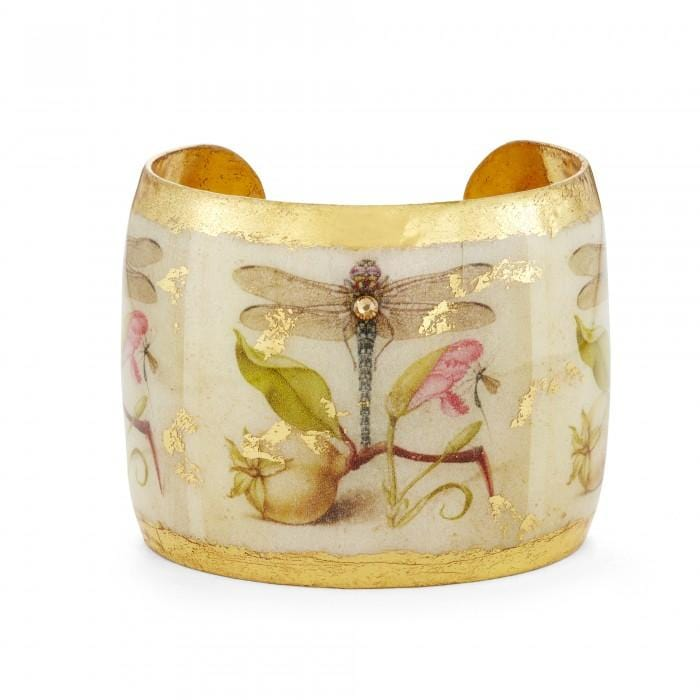 Dragonfly Garden Cuff - GN193-Evocateur-Renee Taylor Gallery