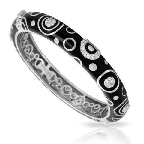 Galaxy Black Stackable Bangle-Belle Etoile-Renee Taylor Gallery