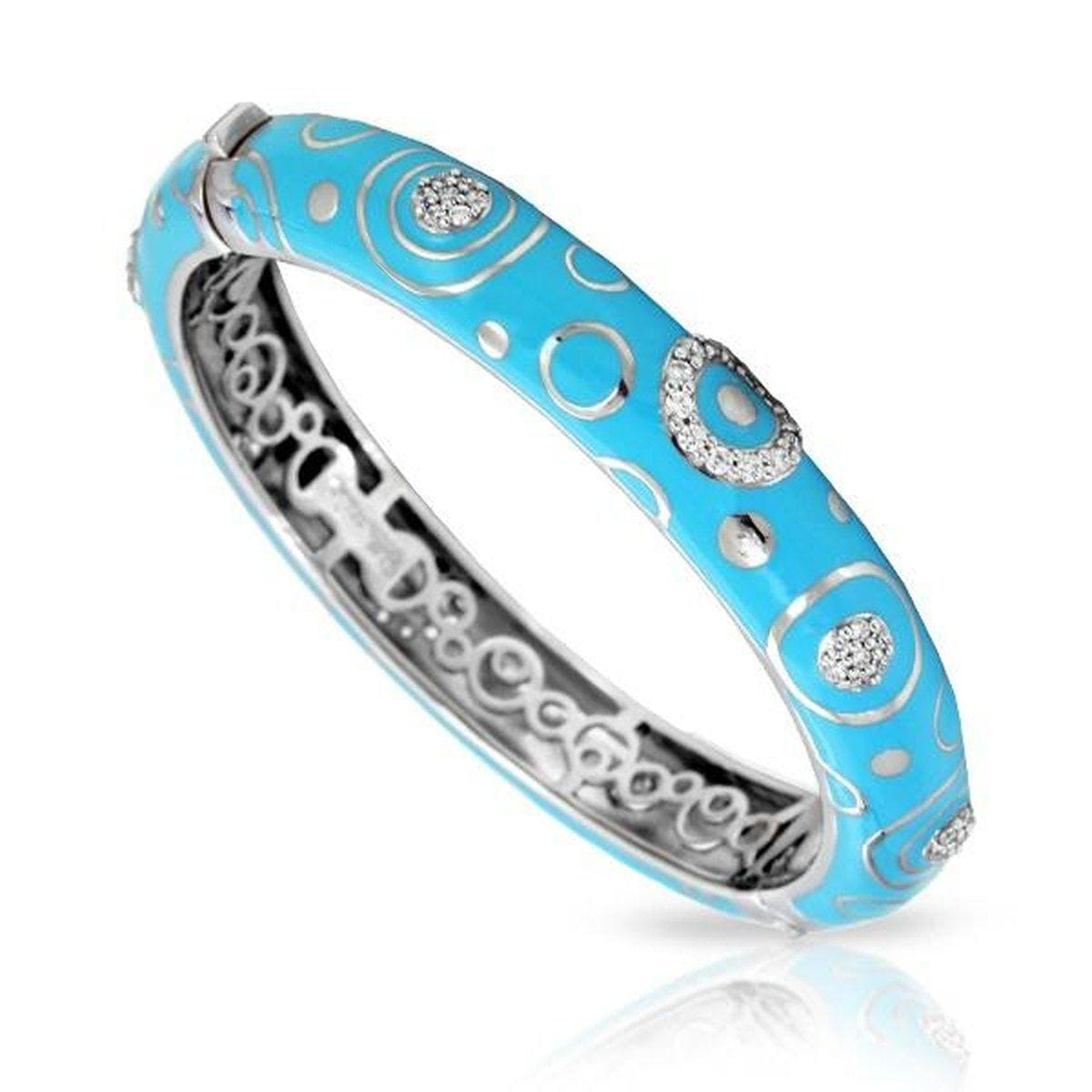 Galaxy Turquoise Stackable Bangle-Belle Etoile-Renee Taylor Gallery