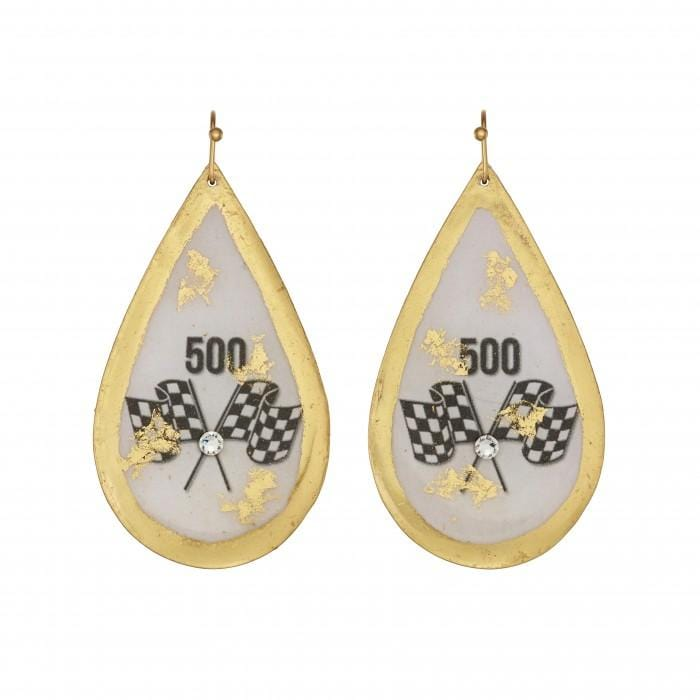 500 Teardrop Earrings - IN400-Evocateur-Renee Taylor Gallery