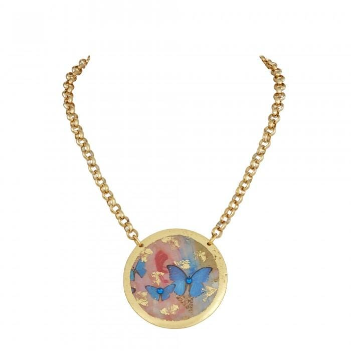 Butterfly Sunset Pendant - LP201