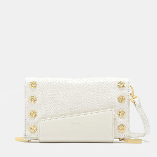 Levy Wallet/Clutch - Levy Marshmallow White Snake BG-Hammitt-Renee Taylor Gallery