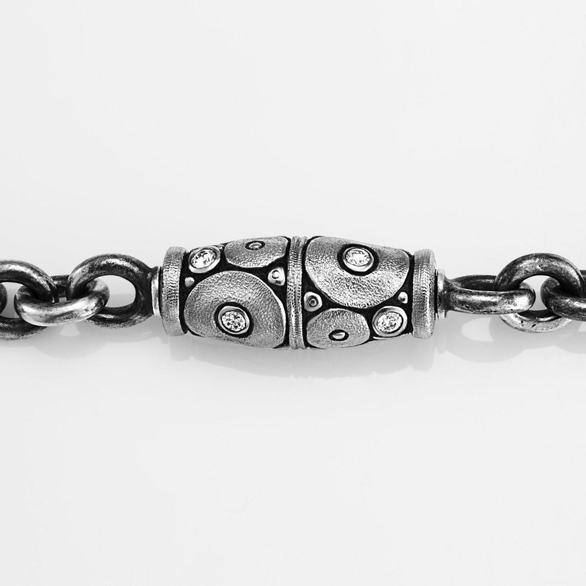 Palladium Orchard Diamond Vario Clasp - M-107ZDVARIO-Alex Sepkus-Renee Taylor Gallery