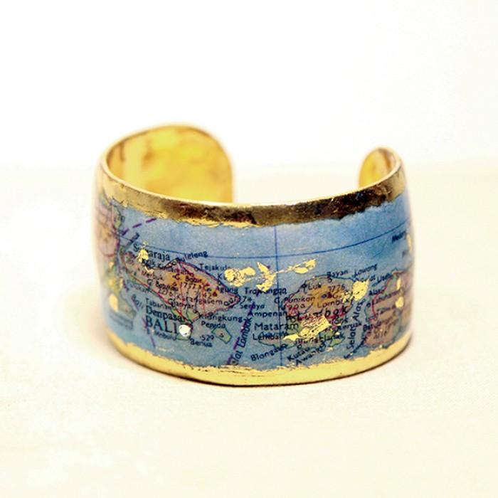 Bali Map Cuff - MA102-Evocateur-Renee Taylor Gallery
