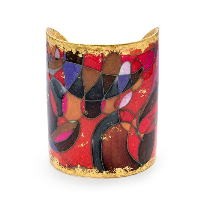Red Canyons Cuff - MG101-Evocateur-Renee Taylor Gallery