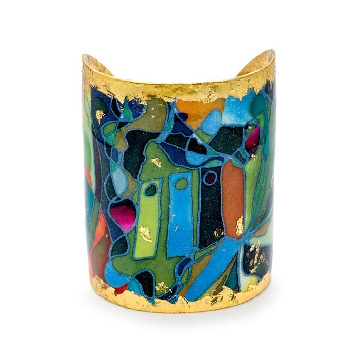 Keyholes Cuff - MG102-Evocateur-Renee Taylor Gallery