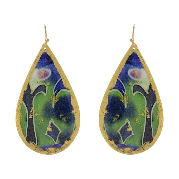 Denver Teardrop Earrings - MG424-Evocateur-Renee Taylor Gallery