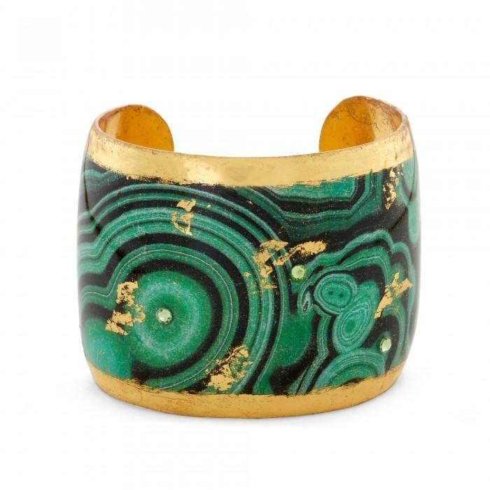Malachite Cuff - MI101-Evocateur-Renee Taylor Gallery