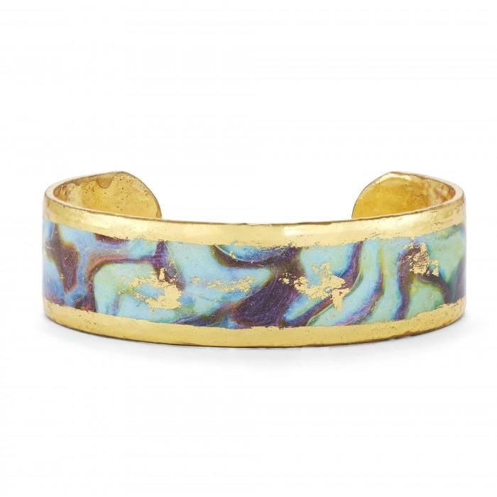 "Abalone .75"" Cuff - MI107-75-Evocateur-Renee Taylor Gallery"