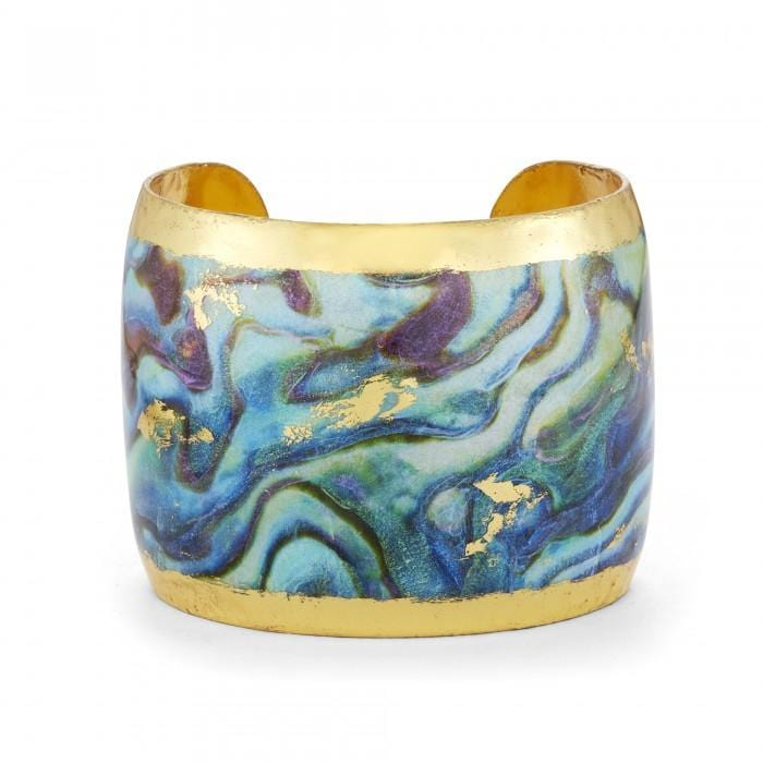 "Abalone 2"" Cuff - MI107-Evocateur-Renee Taylor Gallery"