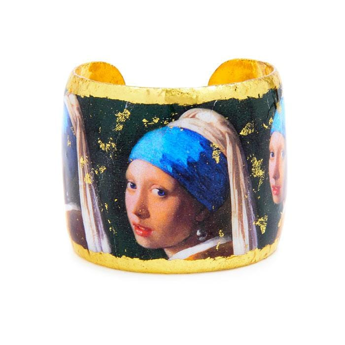 Girl with a Pearl Earring Cuff - MU125-Evocateur-Renee Taylor Gallery