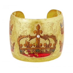French Crown Cuff - MU136-Evocateur-Renee Taylor Gallery