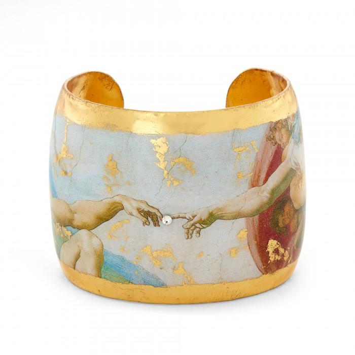 The Creation Cuff - MU162-Evocateur-Renee Taylor Gallery