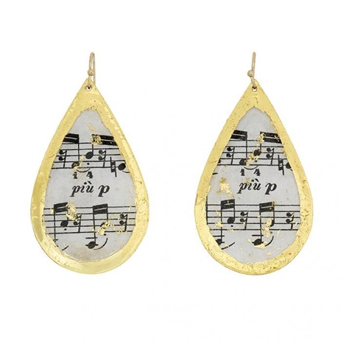 The Opus Teardrop Earrings - MU410-Evocateur-Renee Taylor Gallery