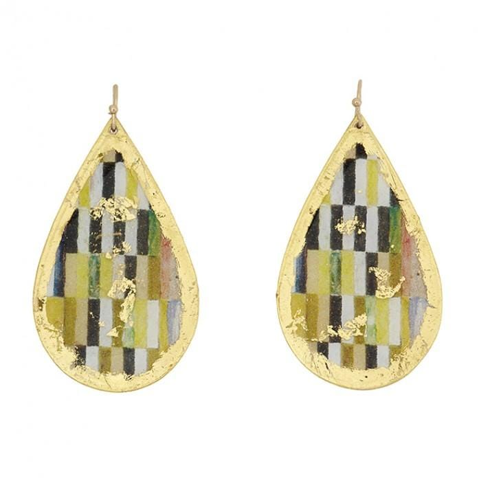 Munich Teardrop Earrings - MU413-Evocateur-Renee Taylor Gallery