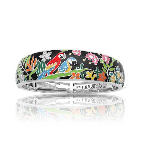 Macaw Black Bangle-Belle Etoile-Renee Taylor Gallery