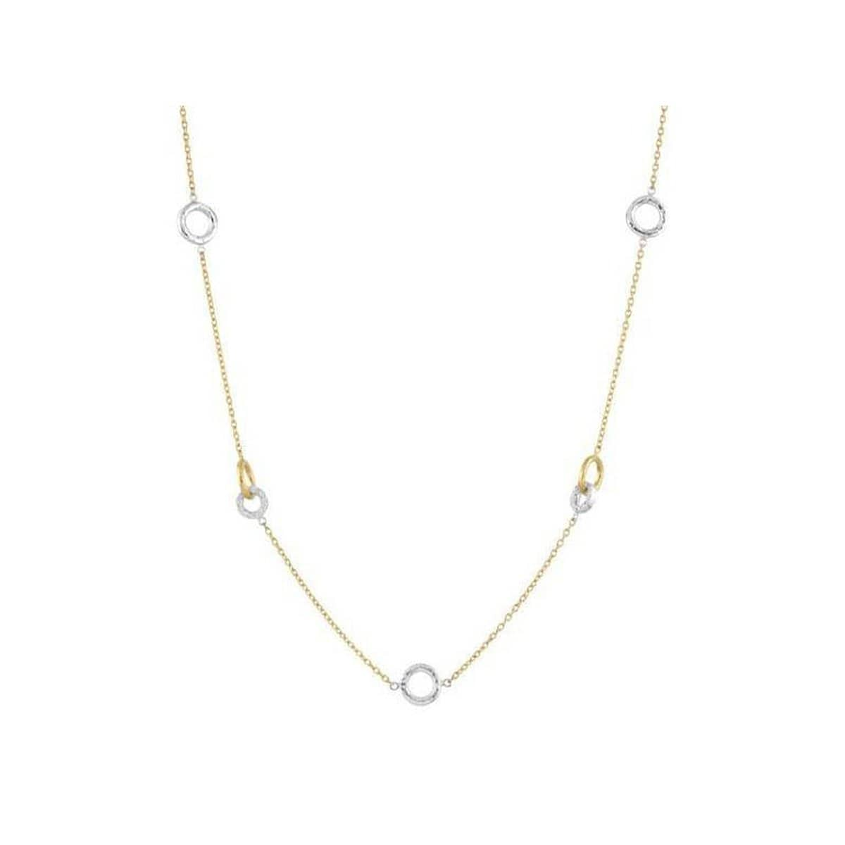 Hoopla 24K Gold Diamond Necklace - N-HPV-4H-3DISG-SST-Y-GURHAN-Renee Taylor Gallery
