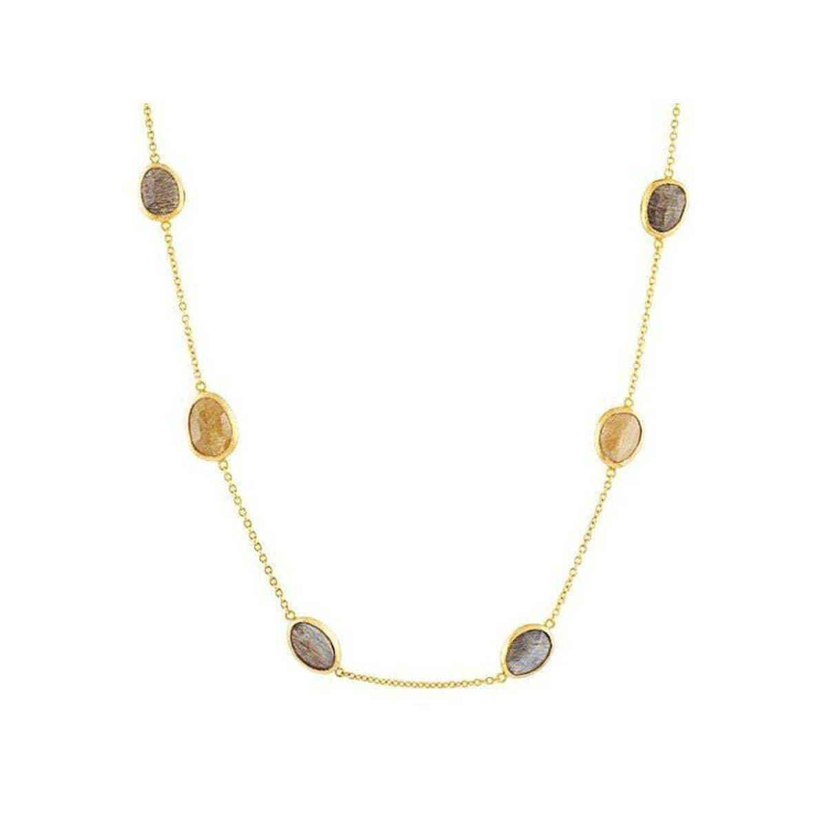 Elements 24K Gold Feld Spa Necklace - N-U21433-FDS-GURHAN-Renee Taylor Gallery