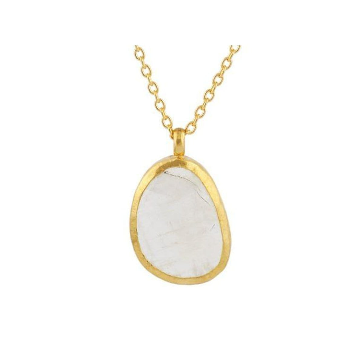 Elements 24K Gold Moonstone Necklace - N-U21602-MNS-GURHAN-Renee Taylor Gallery