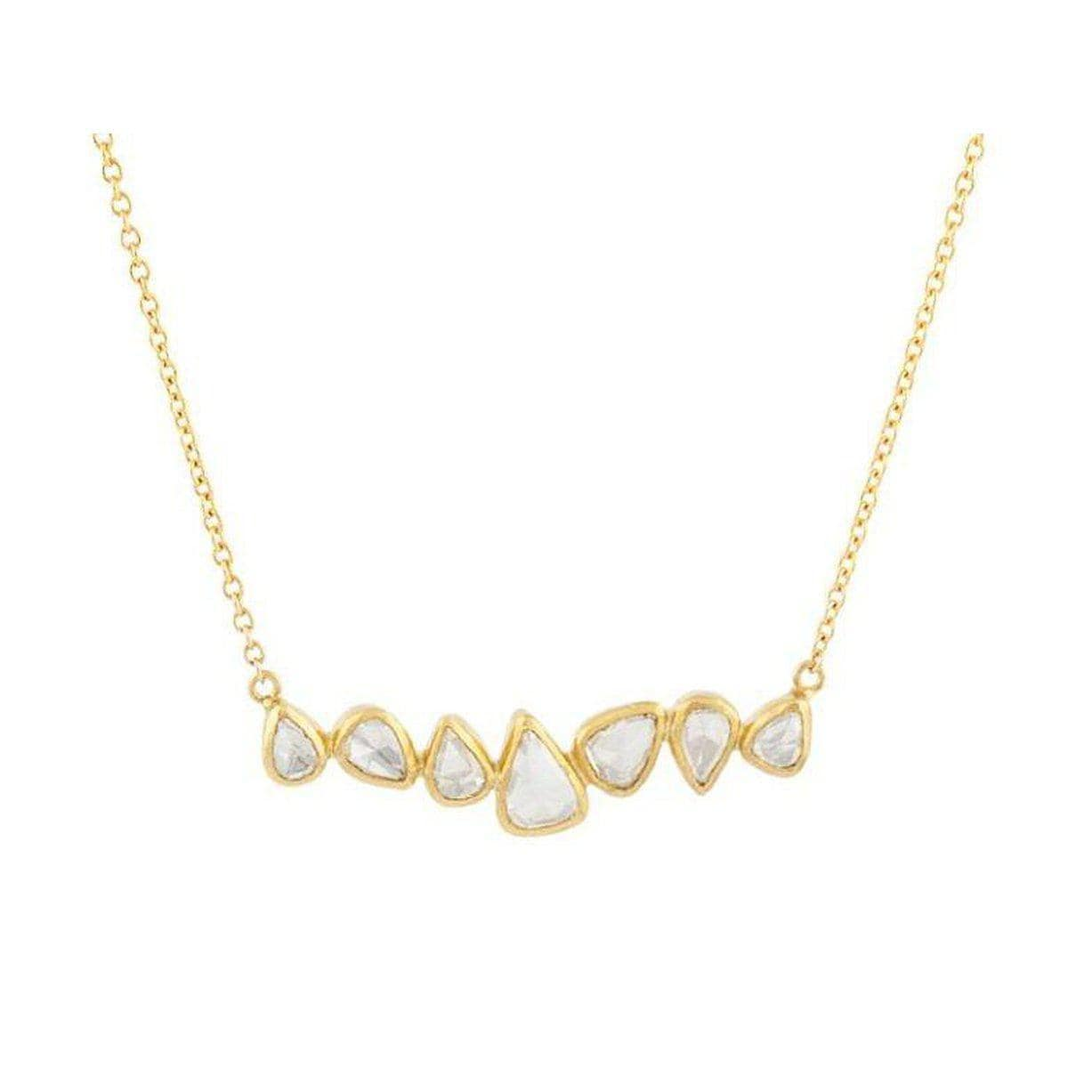 Elements 24K Gold Diamond Necklace - N-U21775-DI-GURHAN-Renee Taylor Gallery