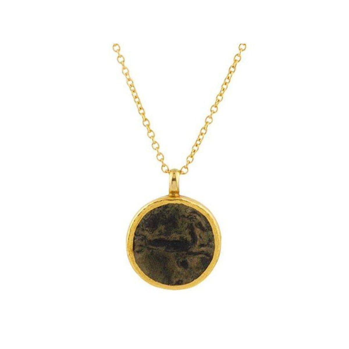 Antiquities 24K Gold Coin Necklace - N-U22960-CN-GURHAN-Renee Taylor Gallery