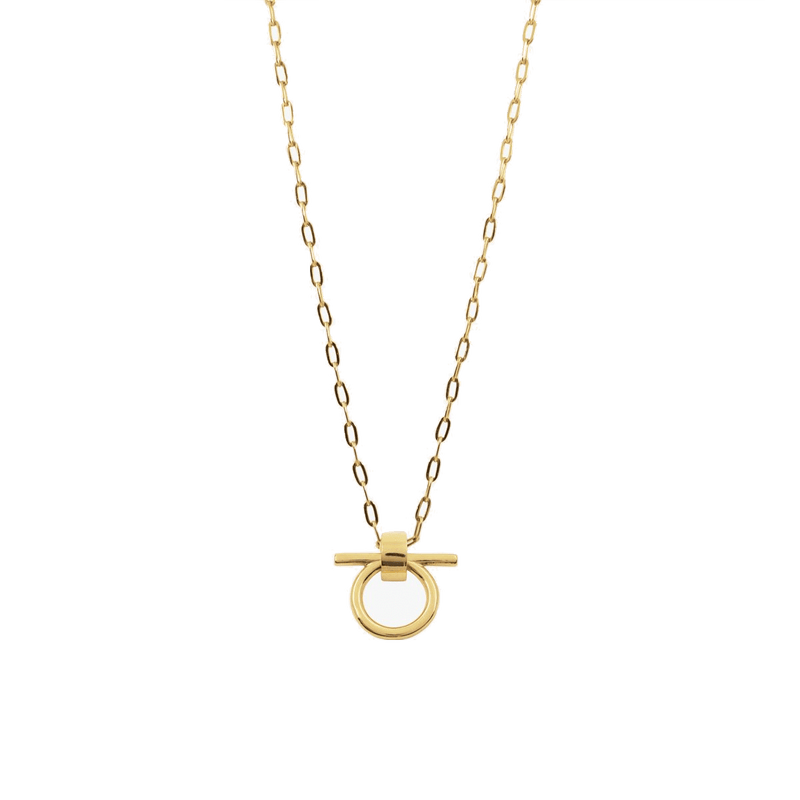 Gold Plated Necklace - N0066 ORO00-CXC-Renee Taylor Gallery