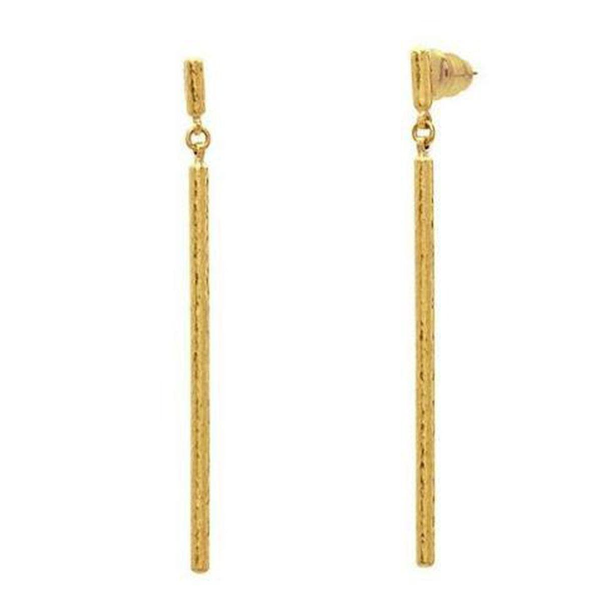 Vertigo 24K Gold Earrings - NVE-VB-50-SD-GURHAN-Renee Taylor Gallery