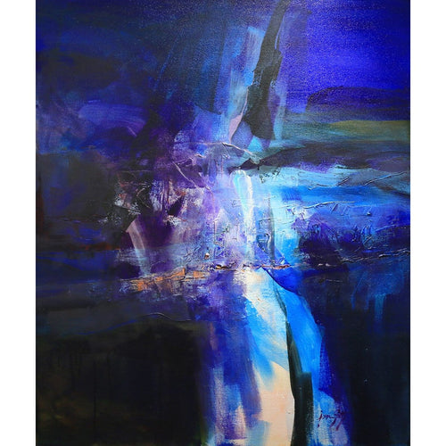 """Night Lights""-Jan Sitts-Renee Taylor Gallery"