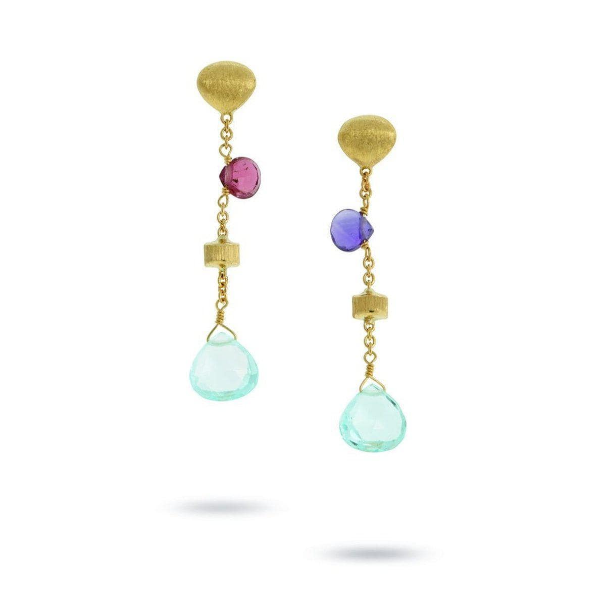 18K Paradise Earrings - OB1554 MIX109 Y-Marco Bicego-Renee Taylor Gallery