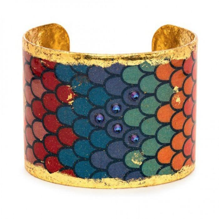 Rainbow Scales Cuff - OC113-Evocateur-Renee Taylor Gallery
