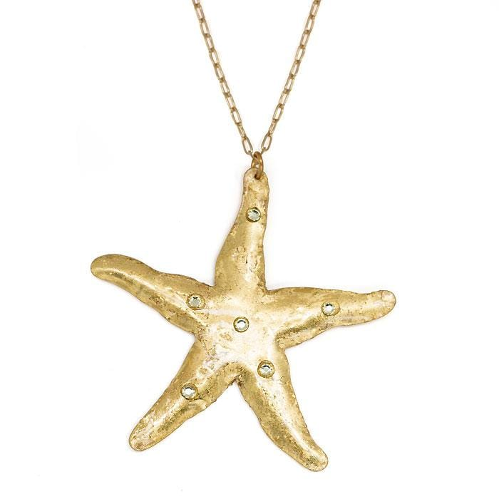 Starfish Necklace - OC213-Evocateur-Renee Taylor Gallery
