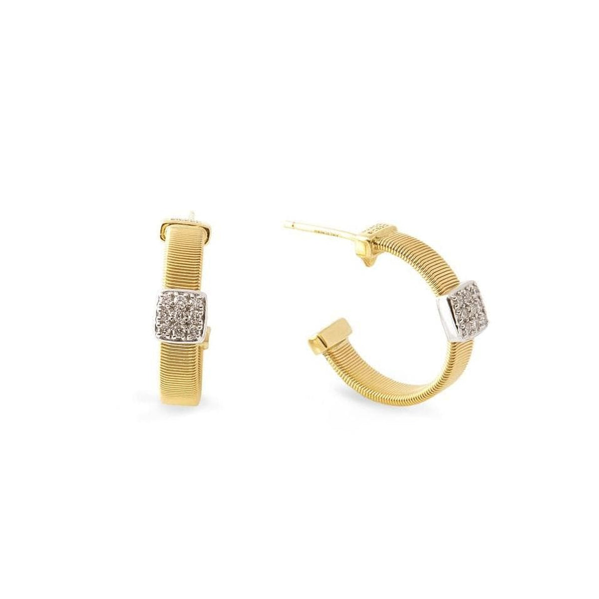 18K Masai Earrings - OG348-B-YW-Marco Bicego-Renee Taylor Gallery