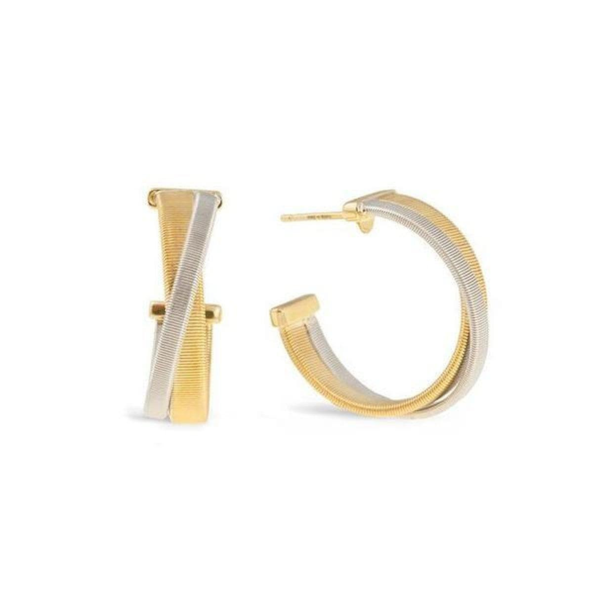 18K Masai Earrings - OG349 YW-Marco Bicego-Renee Taylor Gallery