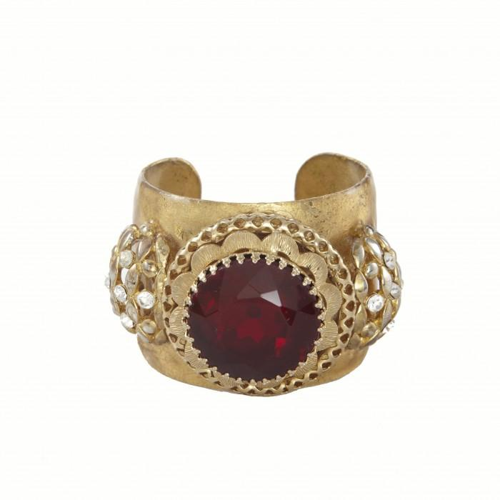 Ruby Cuff - OK101V-Evocateur-Renee Taylor Gallery