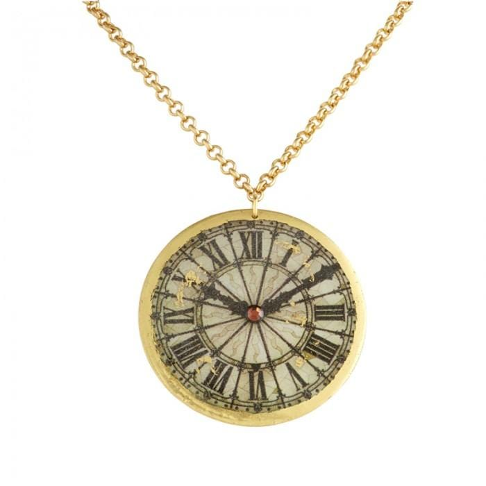 Victorian Clock Necklace - OT222