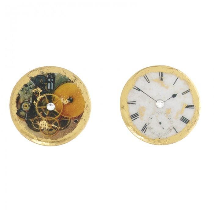 Time After Time Stud Earrings - OT411-Evocateur-Renee Taylor Gallery