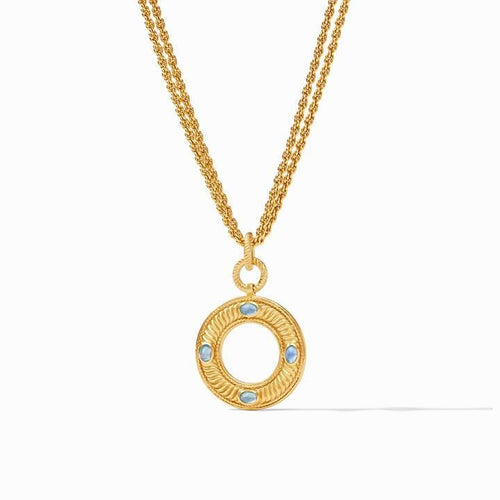 Olympia Gold Pearl Pendant Necklace - P155GPL00-Julie Vos-Renee Taylor Gallery