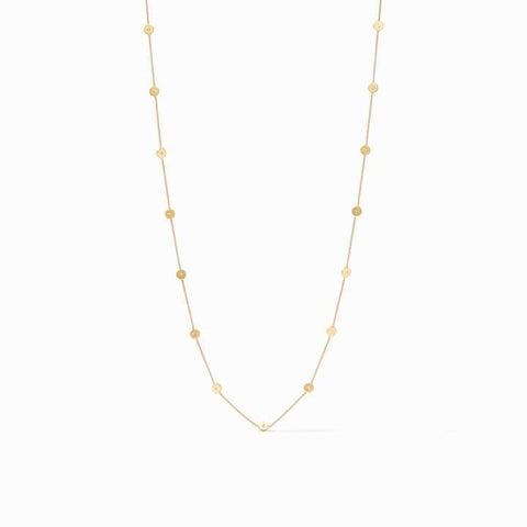 Poppy Station Gold Cz Necklace - N358GCZ00-Julie Vos-Renee Taylor Gallery